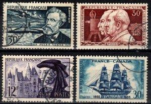 France #770-73 F-VF Used CV $11.45 (X7021)