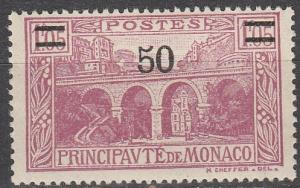 Monaco #95 F-VF Unused (K1019)