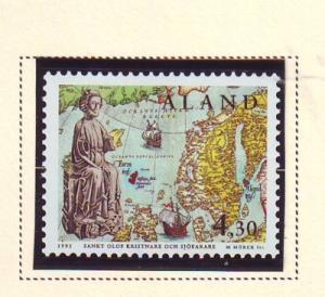 Aland Sc119 1995 Saint Olaf stamp mint NH