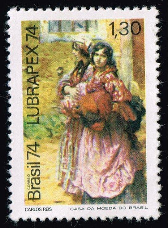 Brazil #1372 The Girls by Carlos Reis; MNH (0.90)