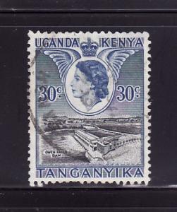 Kenya, Uganda, Tanzania 108 Queen Elizabeth II, Dam (D)