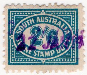 (I.B) Australia - South Australia Revenue : Swine Duty 2/6d