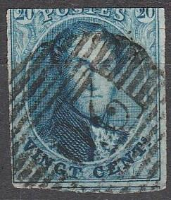 Belgium #11 F-VF Used CV $9.00