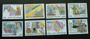Vatican World journeys Pope Johannes Paulus II 1986 Church (stamp) MNH