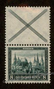 Germany 1930 Michel S82 Aachen Semipostal Se-Tenant MH Zusammendruck 88585