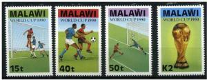 Malawi 1990 Football World Cup - Italy. MNH