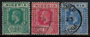 Nigeria #1-2,4  CV $6.45