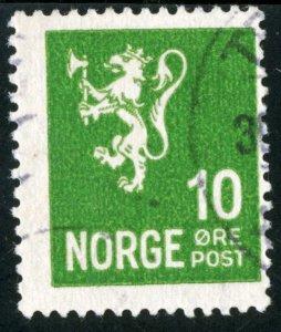 NORWAY #192, USED - 1940 - NORWAY041NS11