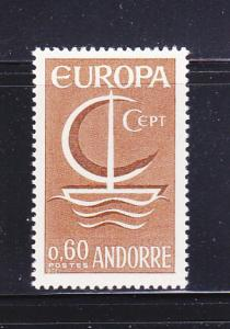 Andorra French 172 Set MNH Europa (A)