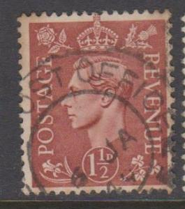 Great Britain Sc#260 Used