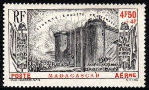 Malagasy CB1, Madagascar, Mint.  French Revolution, 1939