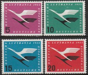 Germany #C61-4 MNH CV $22.75