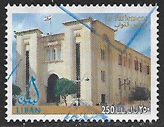 Lebanon # 597 - Parliament - used....{BLW9}
