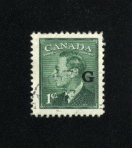 Canada #O16  1   used  1950 PD