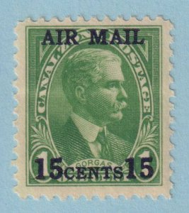UNITED STATES - CANAL ZONE C1 AIRMAIL  MINT NEVER HINGED OG ** EXTRA FINE!