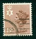 Northern Ireland - #NIMH21 Machin Queen Elizabeth II - Used