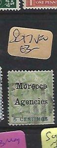 MOROCCO AGENCIES  (P2908B)  KE   5C  SG 17   VFU