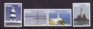 Ireland-Sc#1072-5-unused NH set-Lighthouses-1997-
