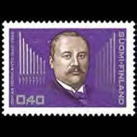 FINLAND 1968 - Scott# 477 Composer Merikanto Set of 1 NH