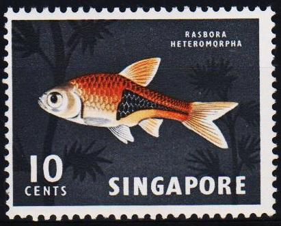 Singapore. 1962 10c S.G.69 Unmounted Mint