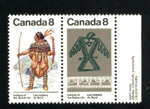 Can #576-77     Mint NH VF 1975 PD