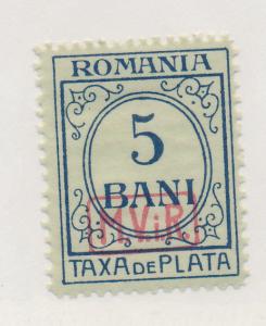 Romania (German Occupation) Stamp Scott #3NJ1, Mint Hinged - Free U.S. Shippi...