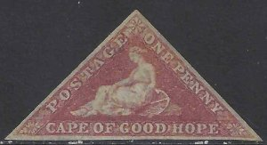 Cape of Good Hope 1857 SC 3 MNH SCV $1500.00