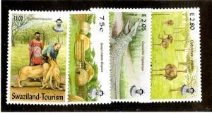 SWAZILAND 711-4  MNH SCV $4.75 BIN $3.25