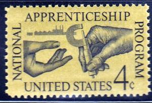 U.S. #1201 National Apprenticeship Program, MNH.