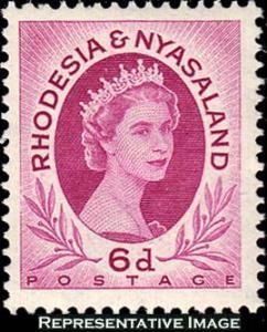 Rhodesia and Nyasaland Scott 147 Mint never hinged.
