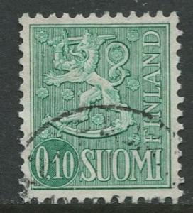 Finland - Scott 400 - Definitives -1963- Used - Single 10p Stamp