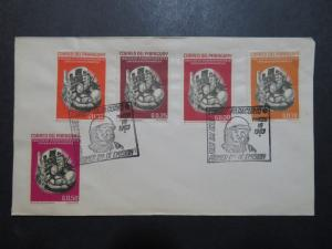 Paraguay 1963 Space Series FDC / Minor Creasing - Z8593