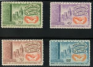 Guinea MNH 394-6 C75 International Cooperation Year 1965