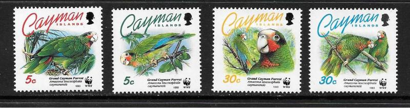 Cayman Is. #668-671  Mint VLH