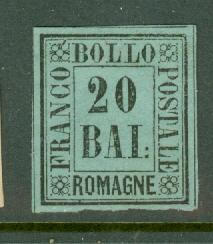 Italy Romagna 9 unused no gum CV $200