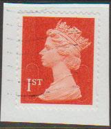 GB QE II Machin SG U2958a - 1st vermillion  - date code M12L - Source  none