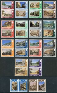 Gibraltar SG255/86 1971 Set Fresh U/M