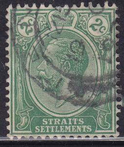 Straights Settlements 180 USED 1921 King George V