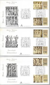Vatican, 623-28, Creation Man/Woman Kim Cover First Day Cover (FDC) Set 3, Used