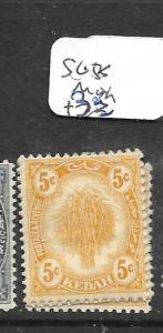 MALAYA KEDAH  (P1301B) LEAF 5C SG 55  MOG