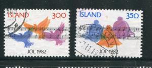 Iceland #565-6 Used