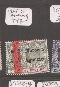 MOROCCO (0707f) MOROCCO KE SG24-6  MOG
