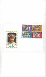 Pitcairn Islands FDC 1979 International Year of the Child Official Cachet