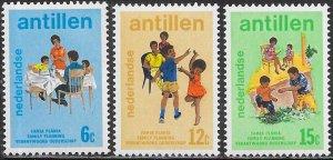 Netherlands Antilles (Curacao) 358-360 MNH -  World Population Year