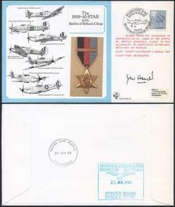 DM10a The 1939 to 1945 Star with Battle of Britain Clasp Signed by Hamill (Q)
