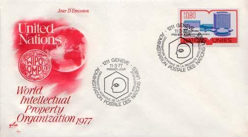 United Nations Geneva, First Day Cover