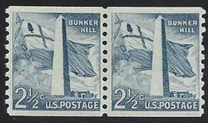 US #1056 2½¢ Bunker Hill