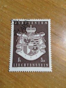 Liechtenstein  #  452  Used