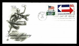 US #E22 Special Delivery First Day Cover - Courtesy Listing (ESP#026)