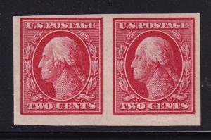 344 Pair VF OG never hinged with nice color cv $ 23 ! see pic !